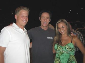 Rick and Tiffany with Legend Lance Burton Master Magician